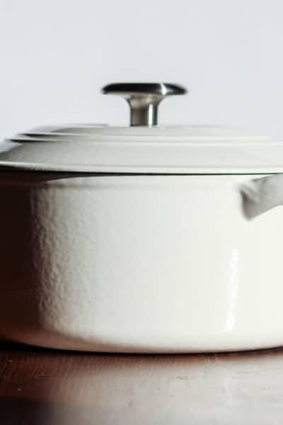 cleaning enameled cast iron dutch ovens, how to clean a dutch oven