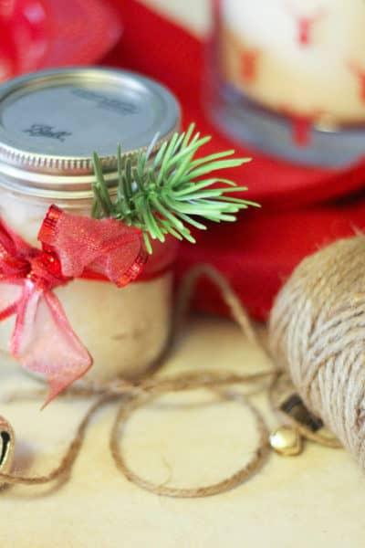 diy peppermint sugar scrub recipe, homemade sugar scrubs