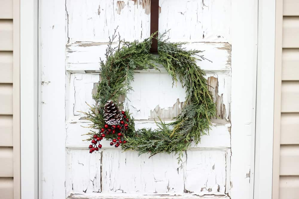 diy christmas wreath ideas inexpensive and easy