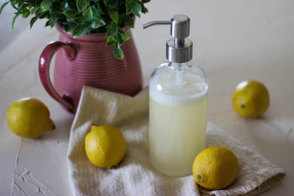 DIY Liquid Hand Soap That's Easy and Moisturizing -
