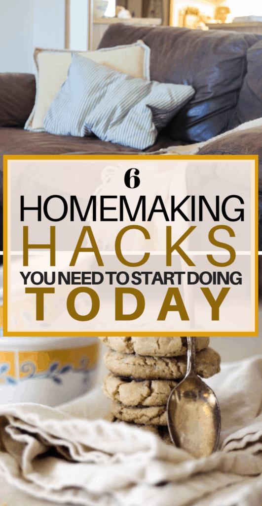 HOMEMAKING TIPS, how to be a better homemaker, homemaking hacks