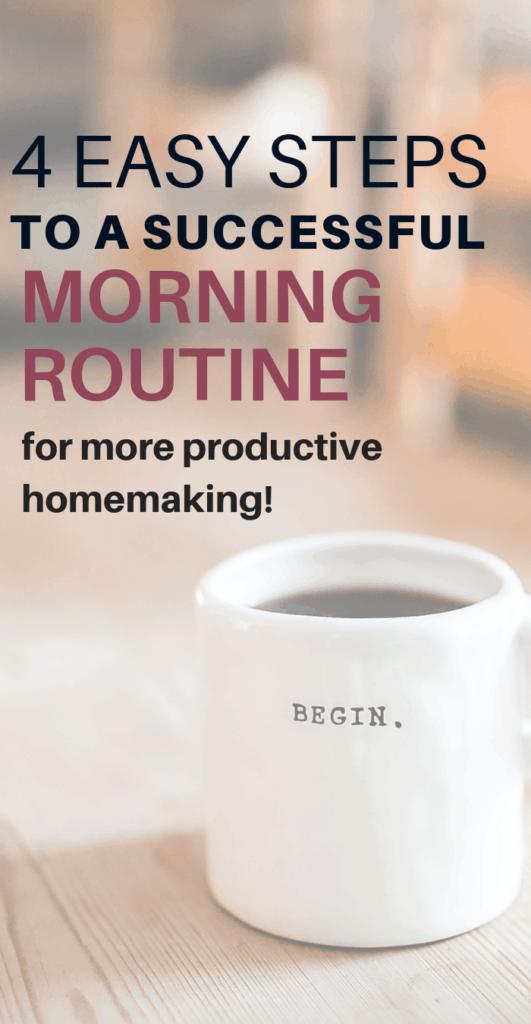 homemaker morning routine, homemaking tips, homemaking schedule, homemaker