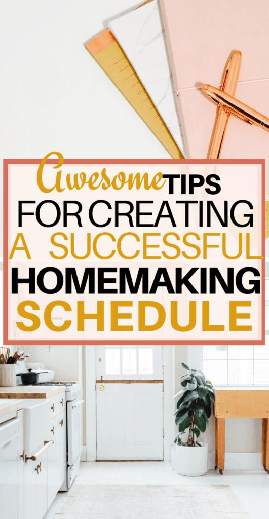 homemaking tips, homemaking schedule, homemaking hacks, cleaning schedules, homemaker routine