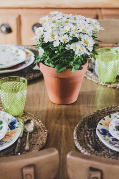 Spring Tablescape Ideas
