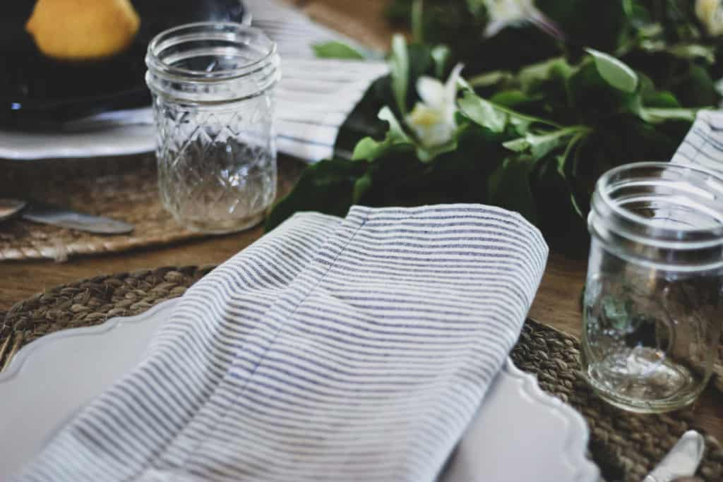 How To Sew A Napkin Diy Cloth Napkins Tutorial Back Road Bloom