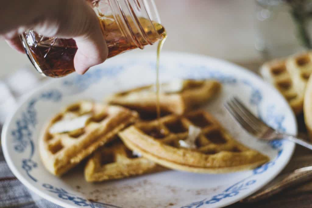 how to make waffles from scratch
