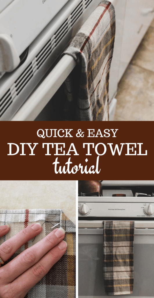 sewing projects for beginners diy tea towel tutorial