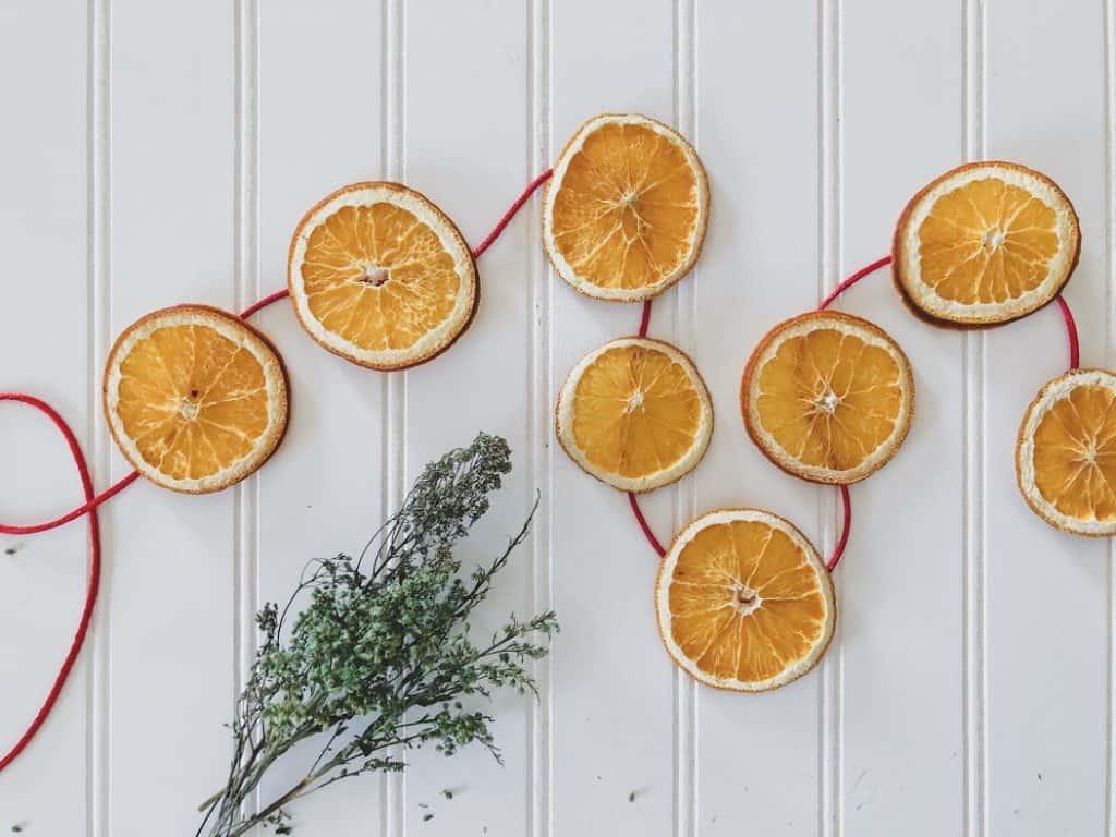 Dried Orange Slices Christmas Decorations