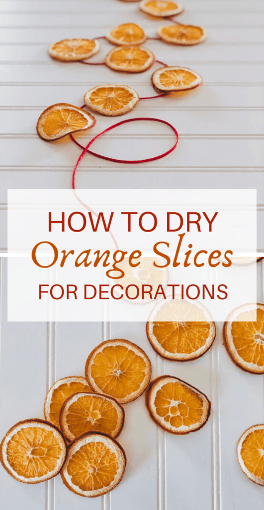 How to Dry Orange Slices for Decorations