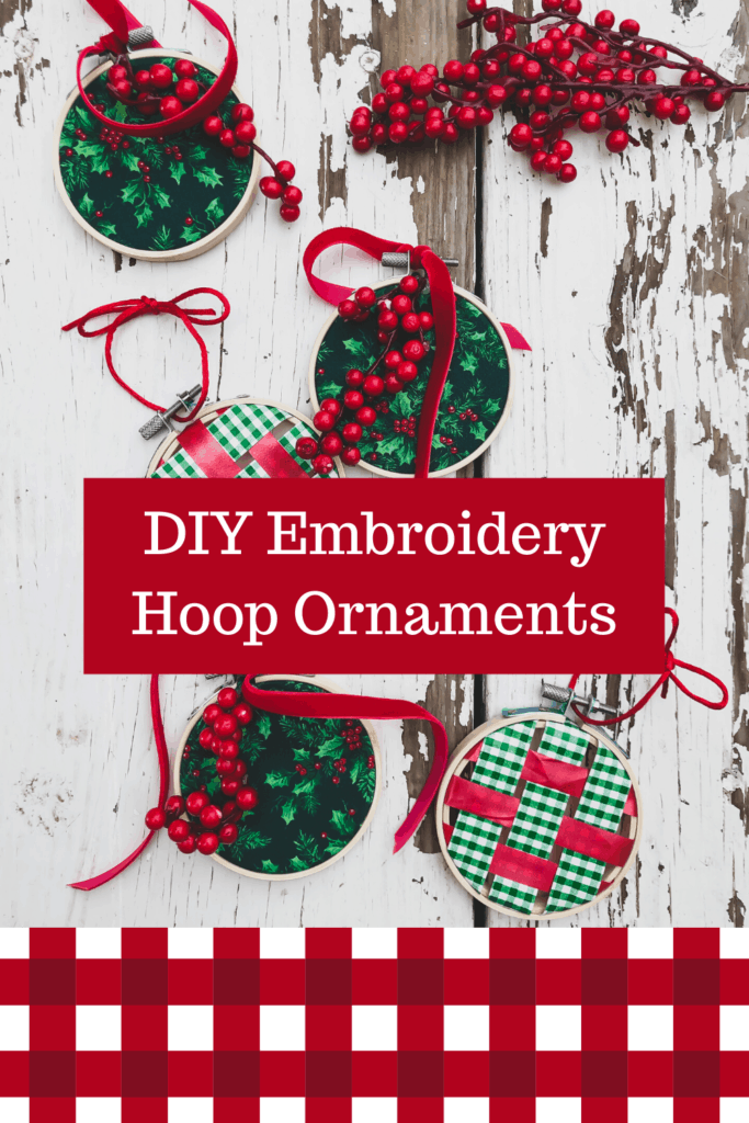diy ornaments for christmas, embroidery hoop crafts, embroidered ornaments christmas