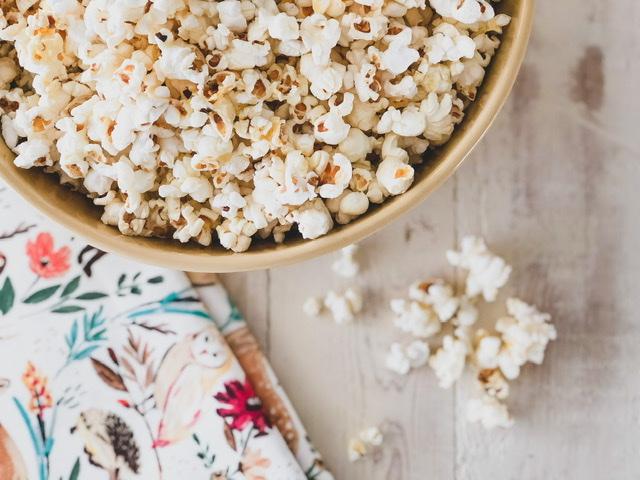 homemade butter popcorn recipe that's simple and easy