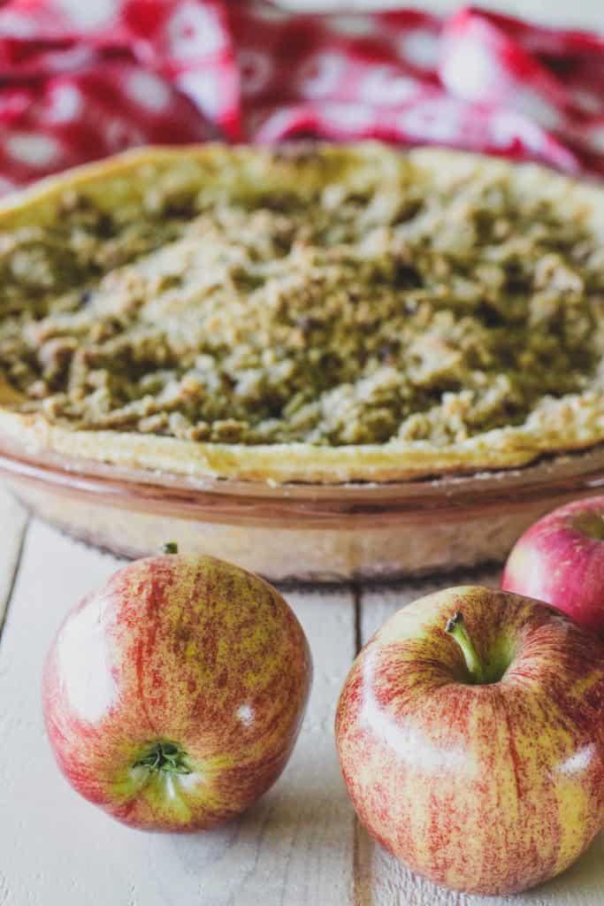 how to make an apple crisp pie